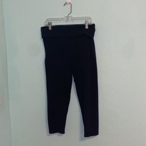 Victoria's Secret cropped fold over  yogas